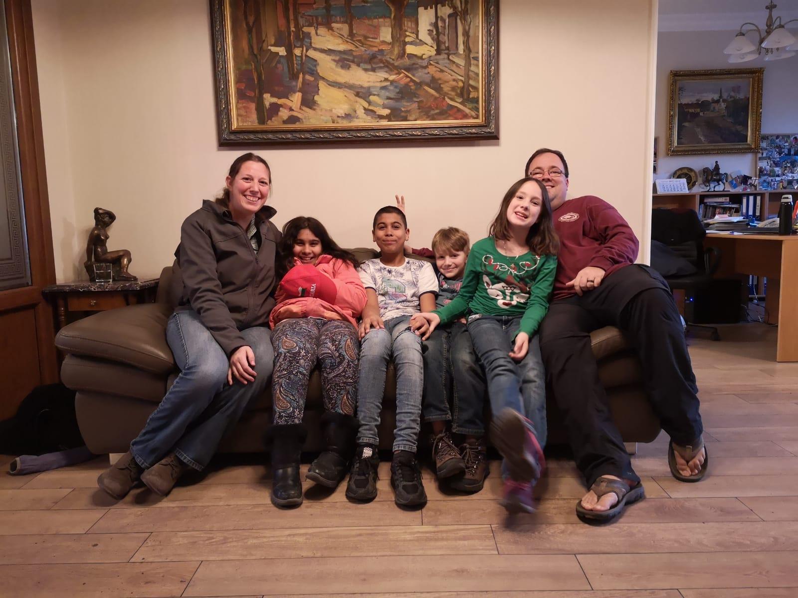 Achieve Adoption Founding Family - The Dingler Family